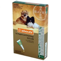 Dose Rate Of Imidacloprid In Advantage For Dogs And Cats